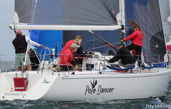J/120 sailing Yachting Cup San Diego