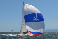 J/80 Puerto Vallarta Banderas Bay Regatta sailing