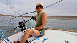Woman J/24 sailor- Brooke