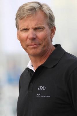 Jochen Schumann sailing for YC Berlin-Grunau