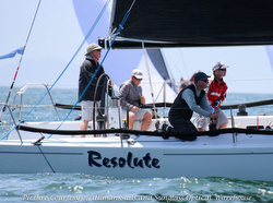J/125 Resolute sailing San Diego Yachting Cup