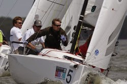J/70s sailing Annapolis