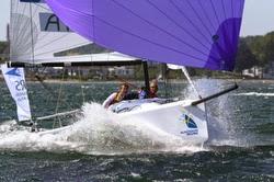 J/70 sailing league racing