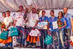 Russian J/70 teams- winners of sailing league in Konakova