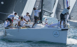 J/111 MY SHARONA sailing New York YC Annual Regatta sponsored by ROLEX
