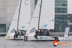 J/70 Netherlands sailing league off Almere