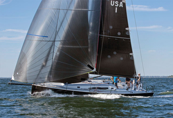 J/121 sailing double slot