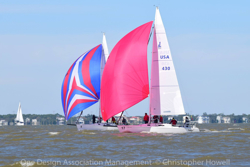 J/105s sailing Galveston Bay