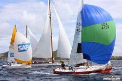 J/24 sailing Grenada