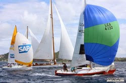 J/24s sailing Grenada Sailing Week
