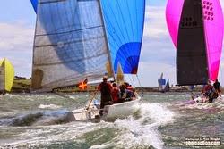 J/80s sailing Cork Week in Ireland