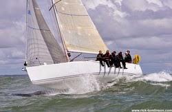 J/109 White Knight sailing Round Britain
