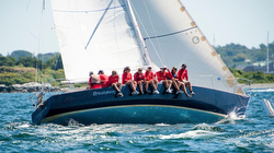 J/35 Breakaway sailing round island race