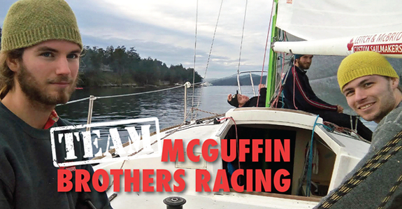 J/24 Race 2 Alaska team McGuffin Brothers