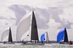 J/111s sailing Europeans off Cowes