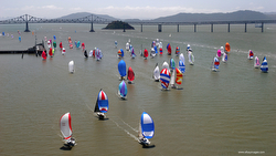 The Great Vallejo Race sailing up San Francisco Bay