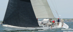 J/46 sailing Marion to Bermuda race
