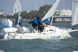 CVSAE Win French J/80 Sailing League Finale