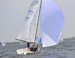 J/70 Selkie sailing Corinthians