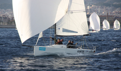 J/70 Gunter leads Barcelona Spain winter series
