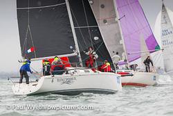 J/92 sailing Hamble Winter Series- England