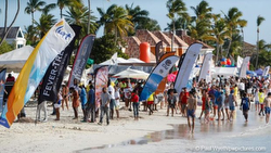 Antigua Sailing Week beach party