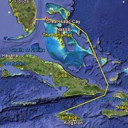 Montego Bay Race course around Cuba and Windward Passage