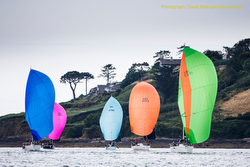 J/109s sailing offfshore- Cork Week