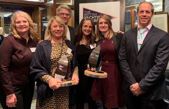 J/UK British Yachting Award representatives