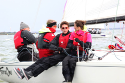 J/70s sailing Netherlands Nationals