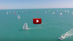 J/70 time lapse sailing video