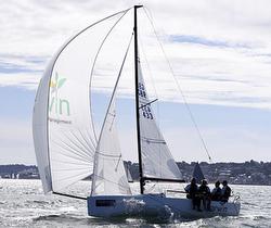 J/70 sailing Cowes 2015