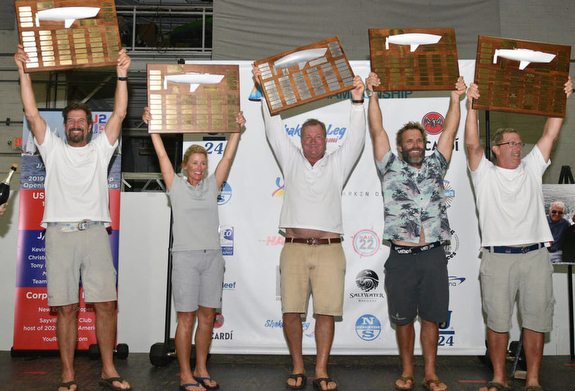 J/24 Worlds winners- Whittemore's Furio