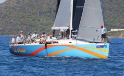 J/122 El Ocaso sailing BVI