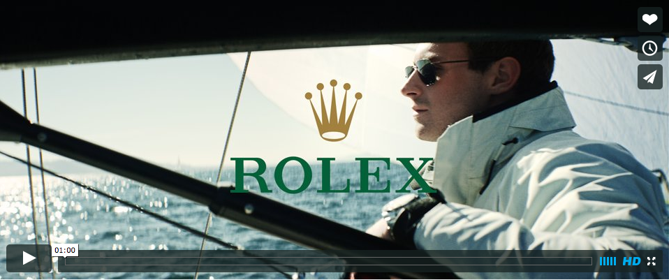 Rolex promo with J/88 sailing in Seattle