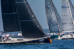 J/111 sailing Marblehead ONE regatta