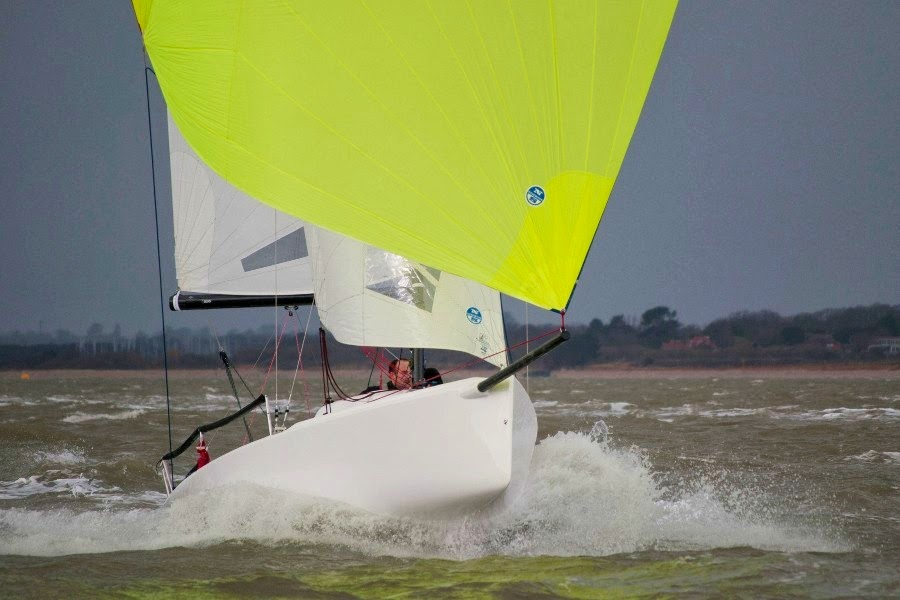 J/70 sailing the Solent- Warsash spring series