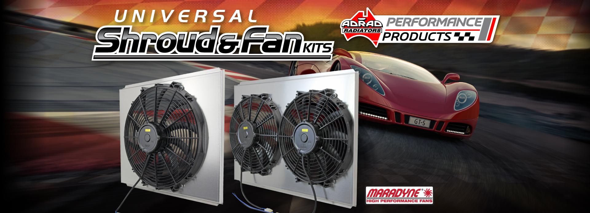 Universal Fan Shroud Kits