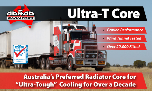 Ultra-T Cores, Australia's Preferred Radiator Core for Ultra-Tough Cooling for over a decade