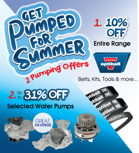 SAVE UP TO 31% ON Water Pumps