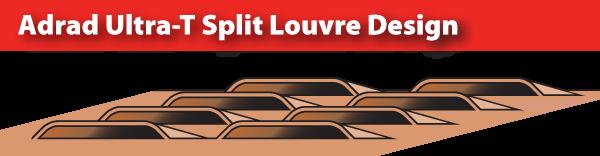 Adrad's Superior Split Louvre Fin - Diagram
