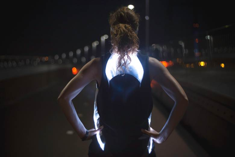 Lighted shirt featured in Nike Women's Run