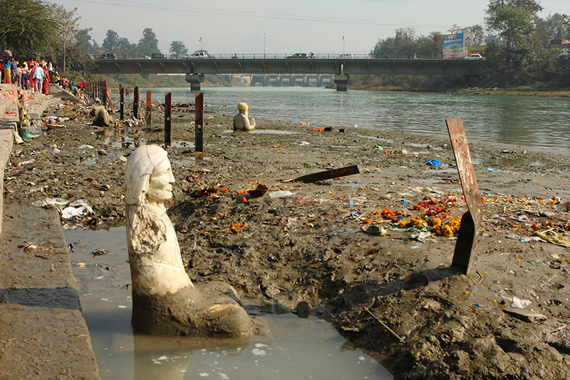 """Clean Ganga Projec"" underway"