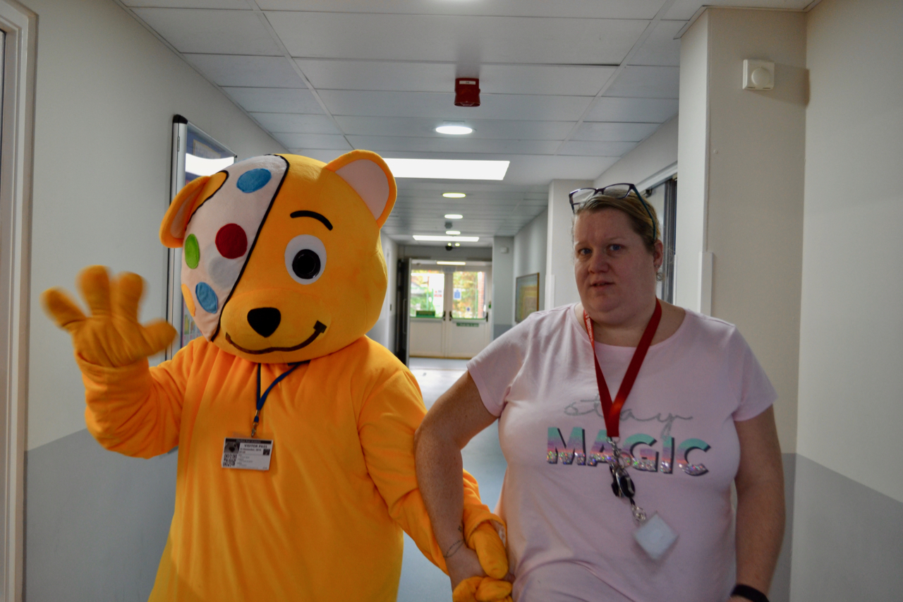 Pudsey and Emily
