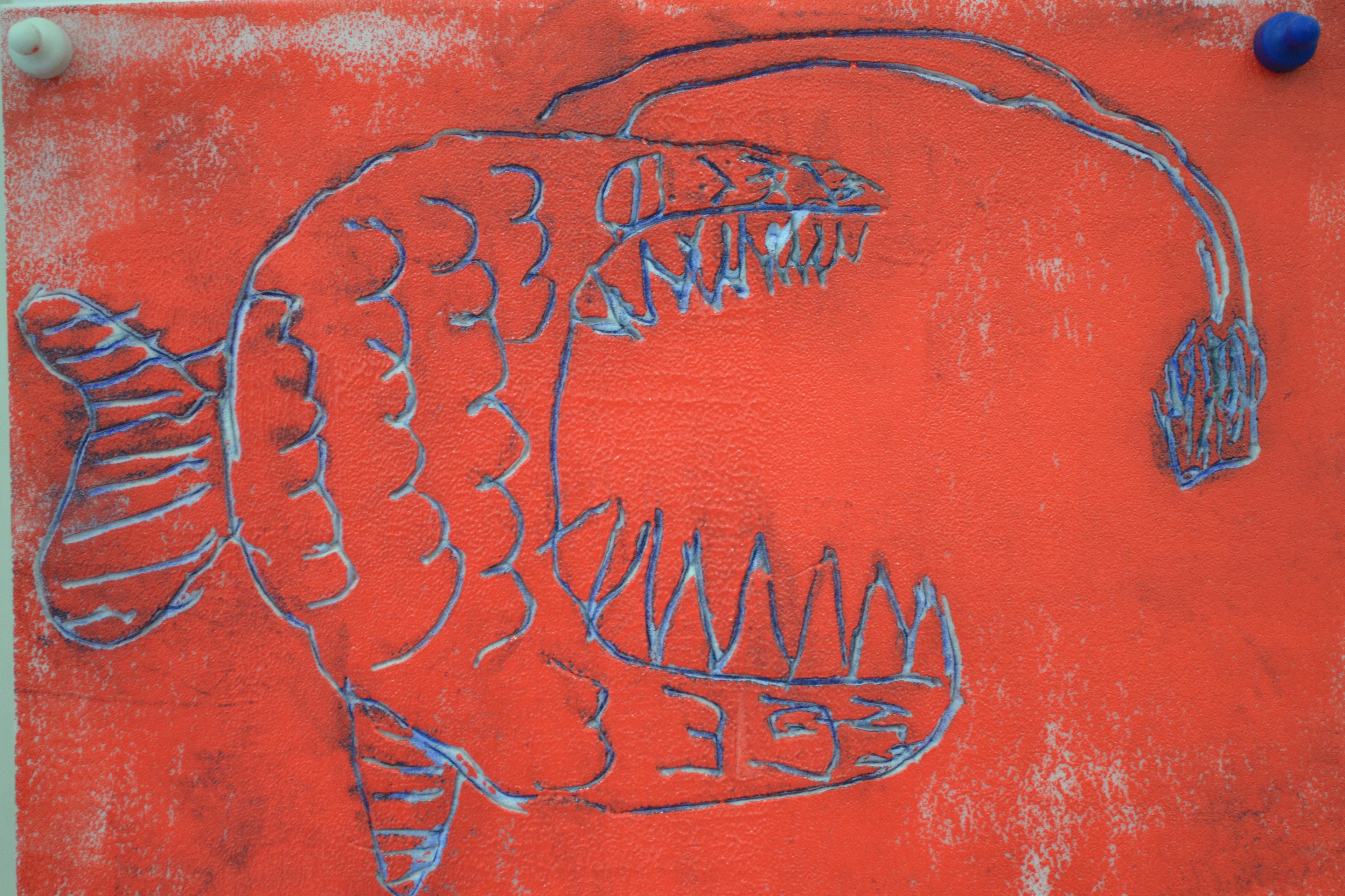 Print of fish