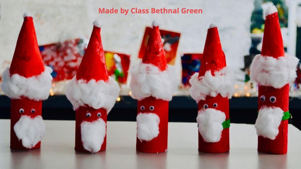 Craft santas