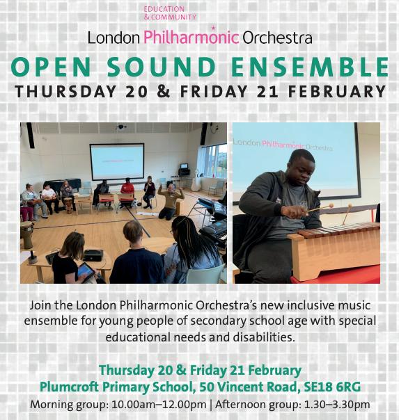 LPO february half term event