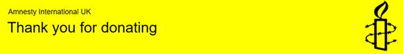 Amnesty International banner