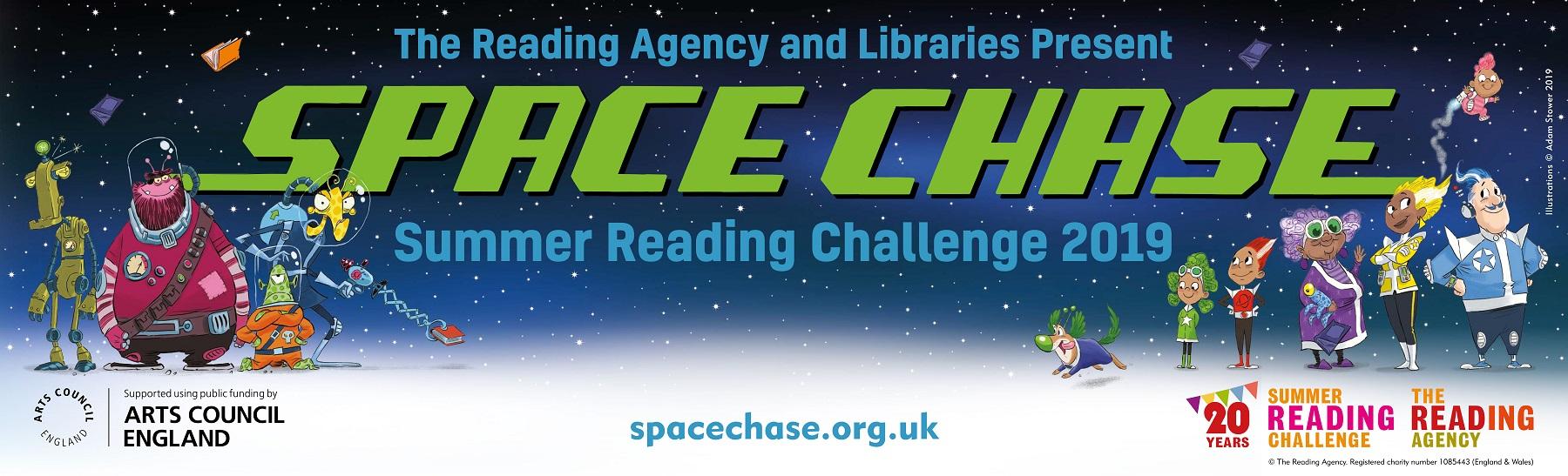 summer reading challenge logo