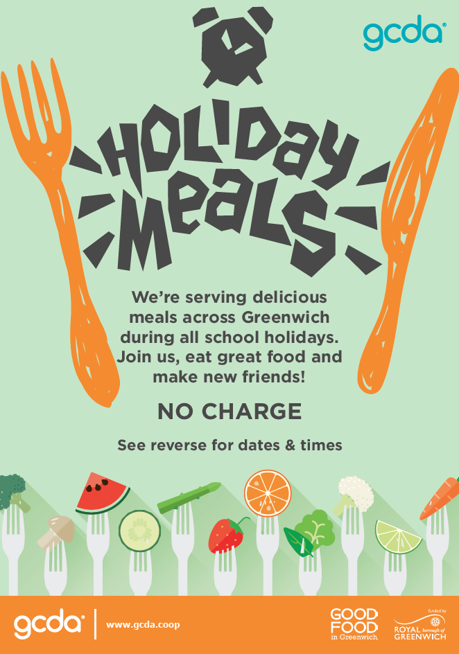 Poster for holiday meals